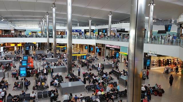 londýnské letiště