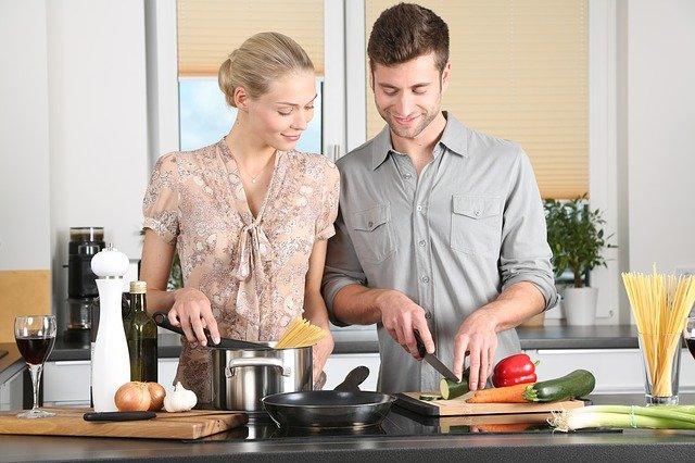 vaření dvojice