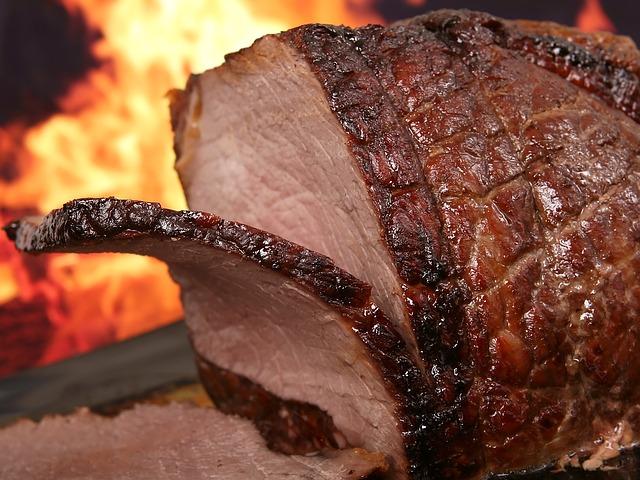 maso z grilu